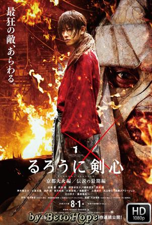 Rurouni Kenshin: Kyoto en llamas [1080p] [Latino-Japones] [MEGA]