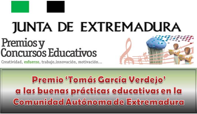 Premio 'Tomás García Verdejo' a las buenas prácticas educativas
