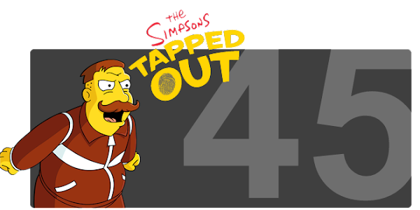 The Simpsons Tapped Out - Level 45 Update