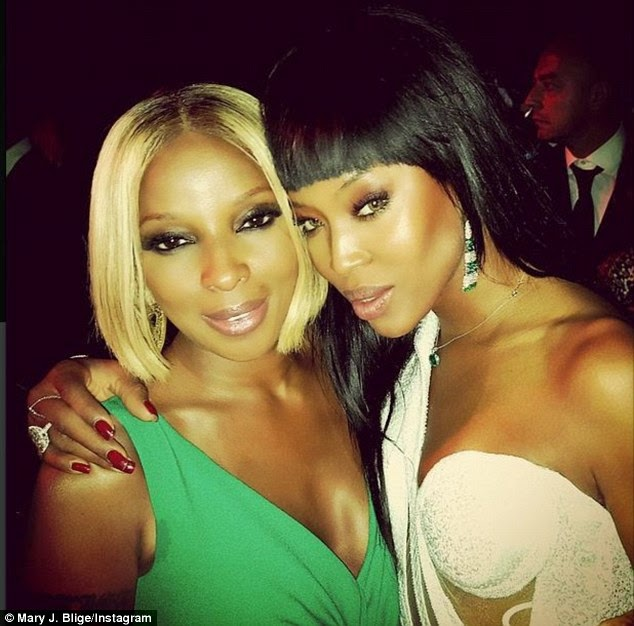 mary j blige naomi campbell birthday