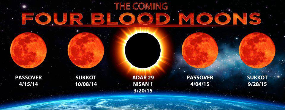 Blood Moon Eclipse 2015 2nd moon came on sukkot
