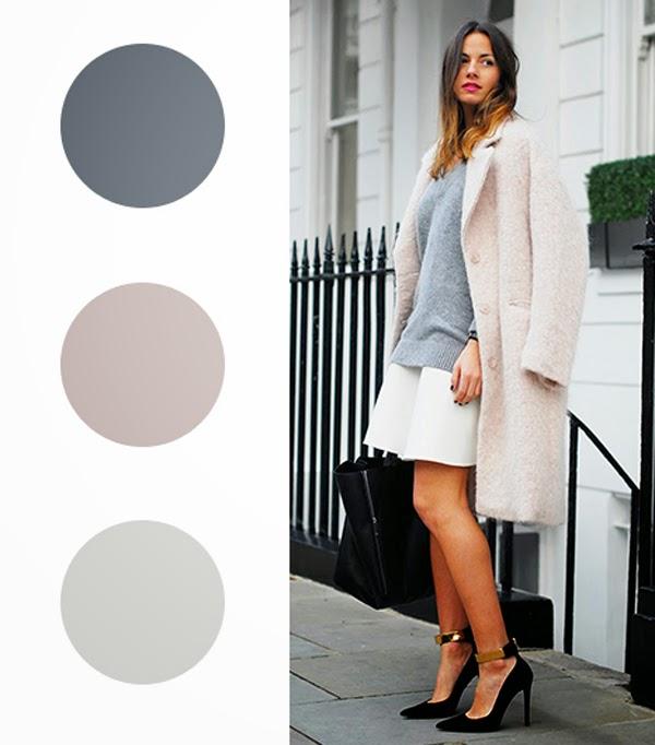 Combina los colores de tu ropa y la de tus hijos como una for Color plomo