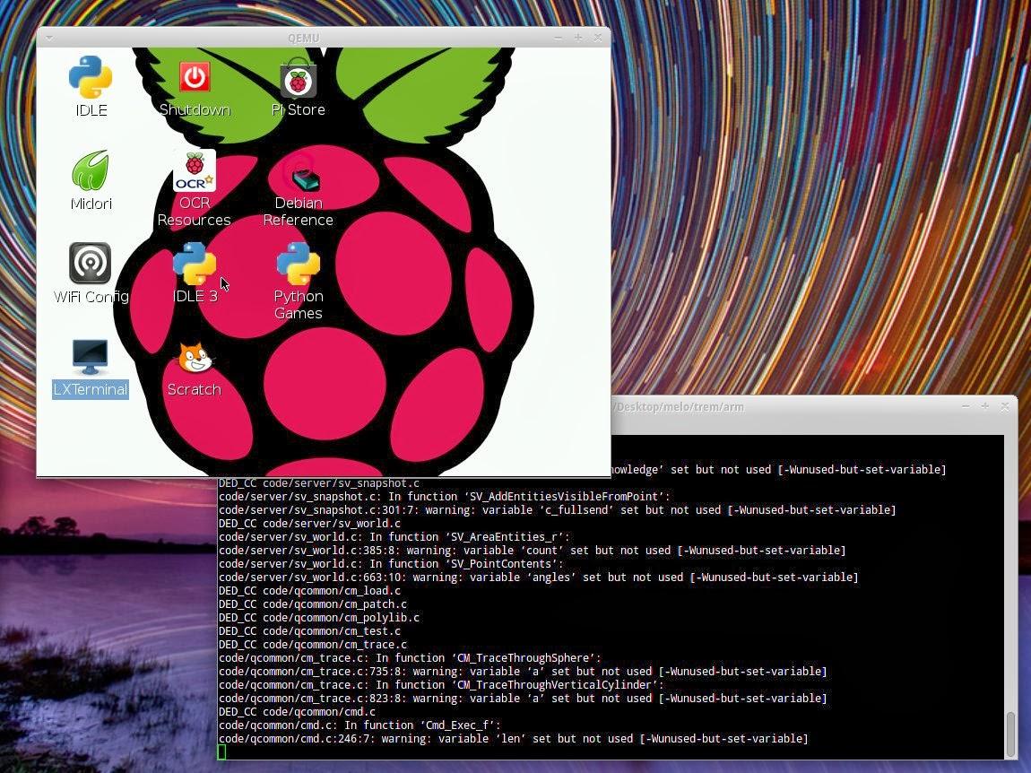 qemu arm emulator raspberry pi