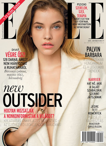 Barbara Palvin Elle Magazine Hungary October 2015 cover