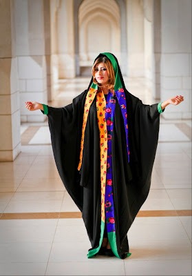 personally, would love to see some Omani women's regional dresses