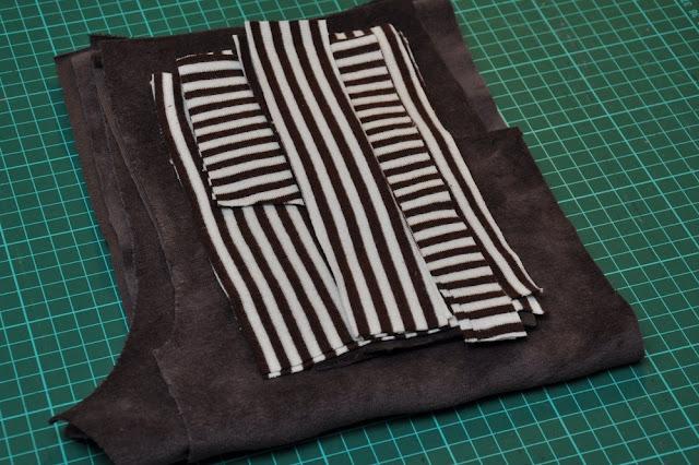 stof til hjemmesyet bukser