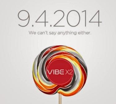 Lenovo Vibe X2 akan diperkenalkan di ajang IFA 4 September 2014