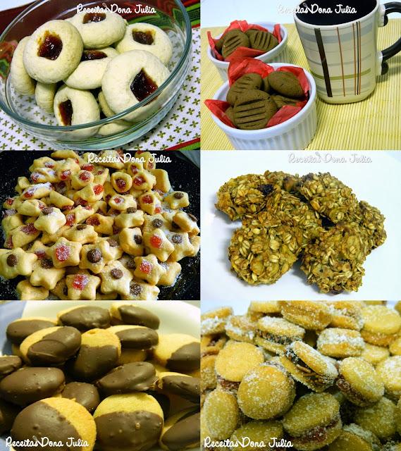 Seleção de Biscoitos
