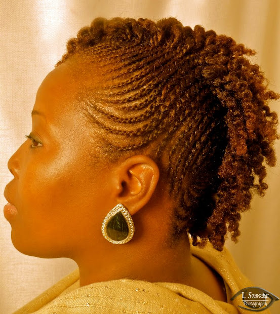 impressive short natural hairstyles