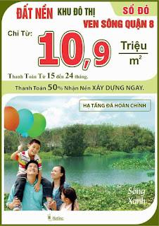dat nen Phu Thinh Riverside quan 8