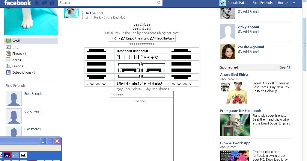 Post Mp3 Gif Jpeg In Status Updates On Facebook Wall