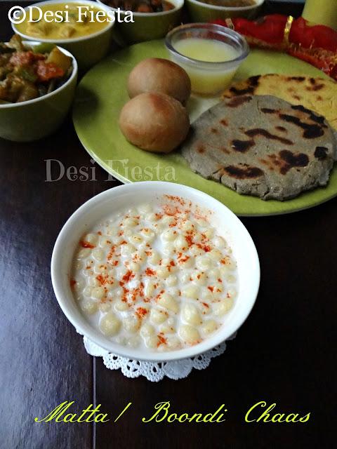 Boondhi chaas