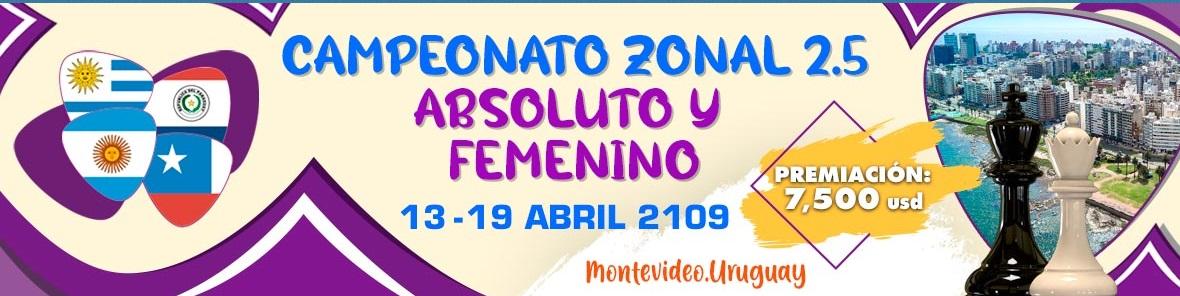 Zonal 2.5 Absoluto y Femenino 2019 (Dar clic a la imagen)