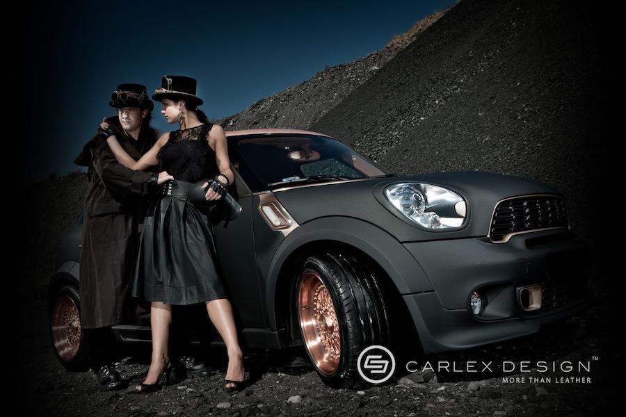 ラグジュアリーを極めすぎたCARLEX designが手掛けたMiniクロスオーバーのカスタムモデル「MiniSteam」