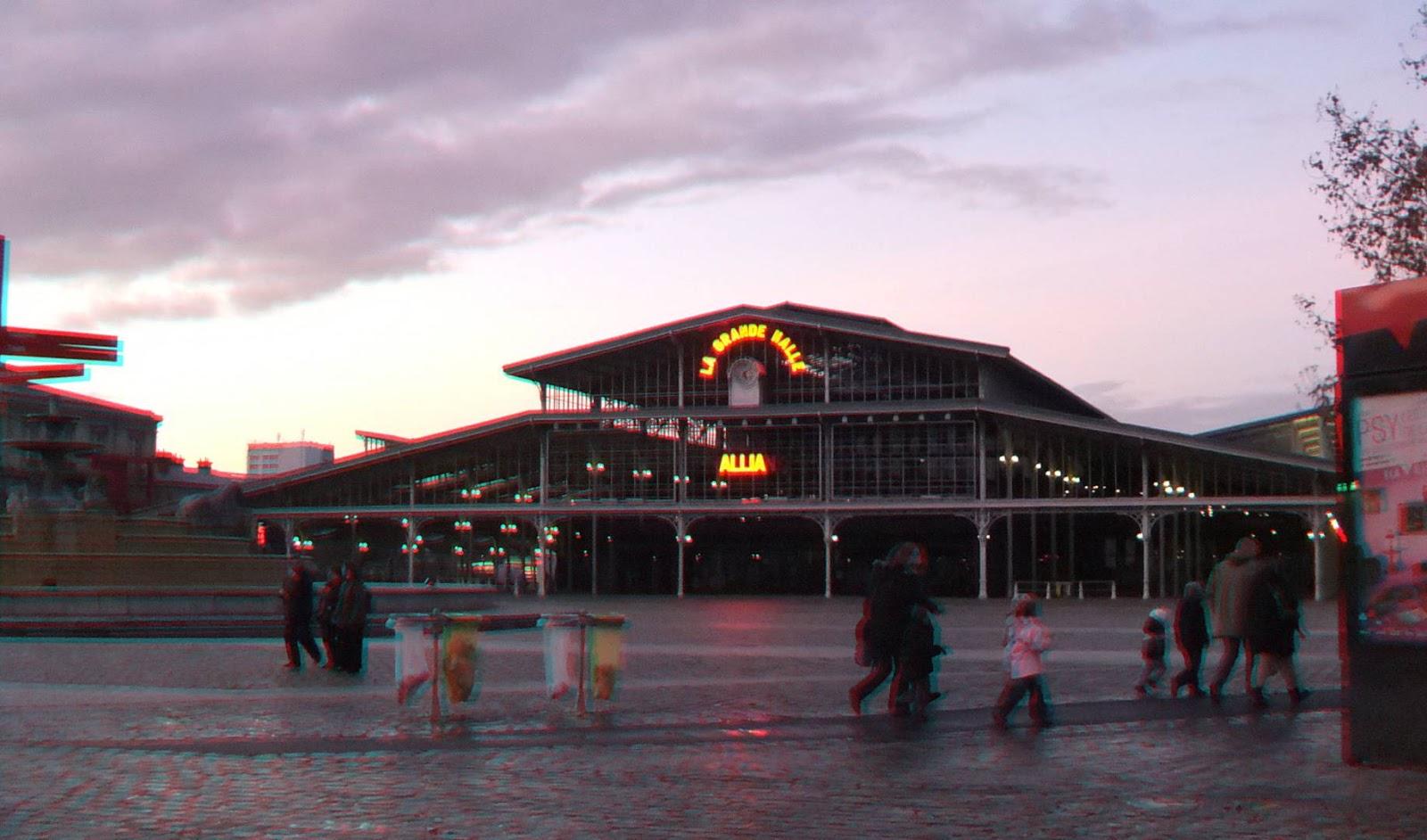 La Grande Halle de la Villette en 3D