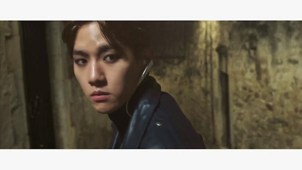 EXO's Baekhyun in EXO Pathcode teaser