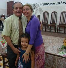 EL PR. JEREMIAS CORDOVIL Y SU FAMILIA