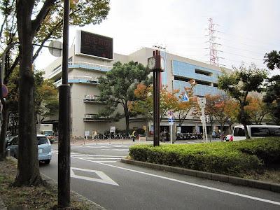 京阪古川橋駅 駅前の時計