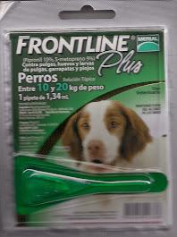 Frontline Plus para perros de 10 a 20 kg