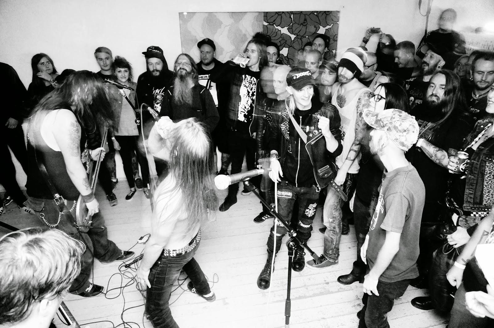 fest fnask hardcore i Malmö