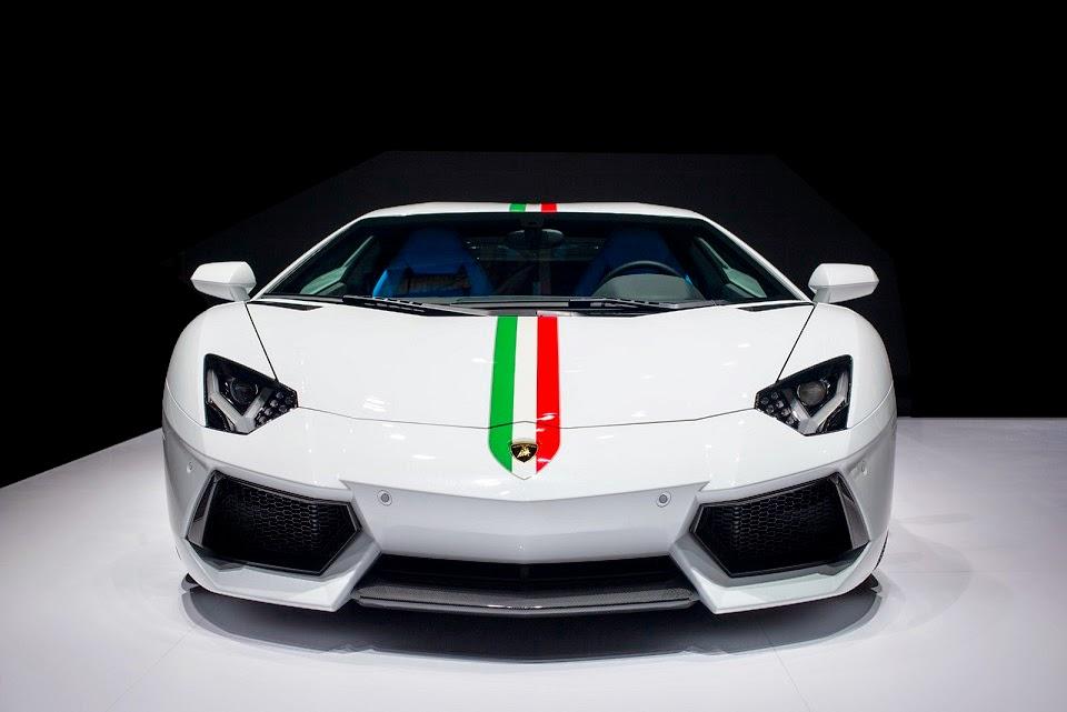 Lamborghini Aventador Nazionale Ad Personam