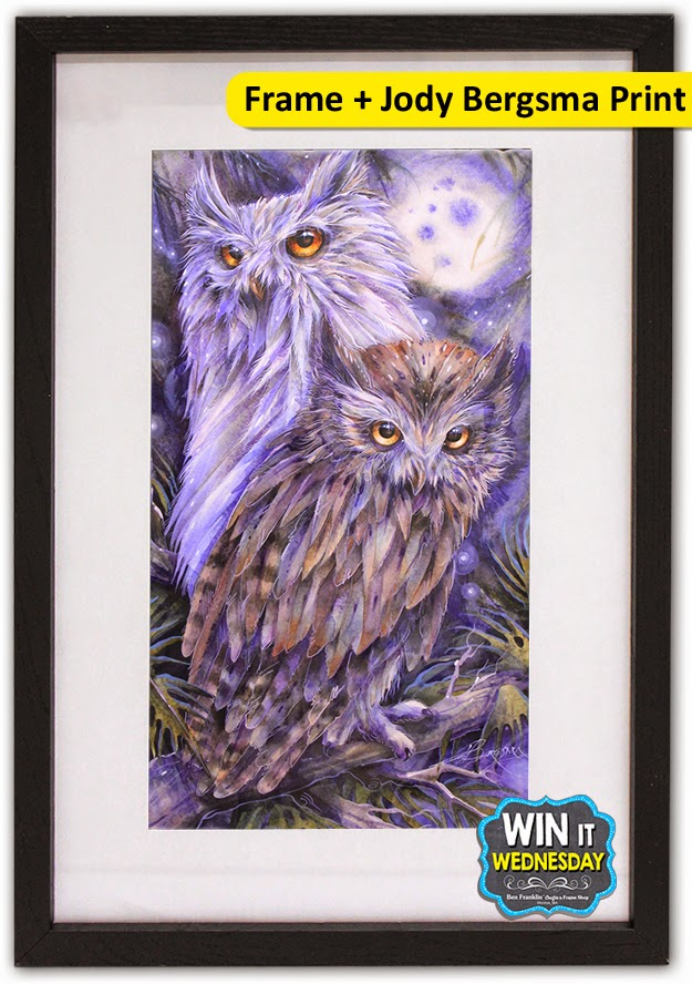 Win one Frame and one Jody Bergsma Print