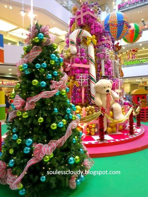 Christmas 2014 KL Shopping Mall