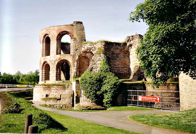 Imperial Baths of Trier in Germany