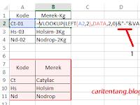 Cara Menulis 2 Formula dalam 1 Cell - Excel