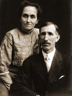 Flora e Elias Disney, pais de Walt Disney