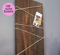 Wooden Note Board