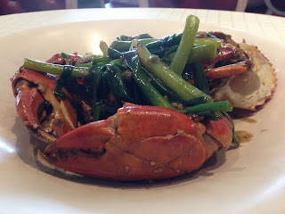 White pepper crab at No Signboard