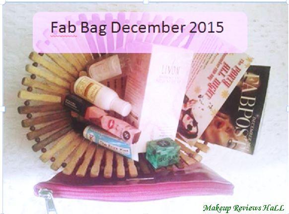 Fab Bag December 2015 Review