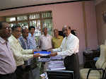 CHARTER OF DEMAND SUBMITTED TO MR.NSRC PRASAD, GIPSA CHAIRMAN BY NFGIE GENL.SECY. MR. SUJIT BAGCHI