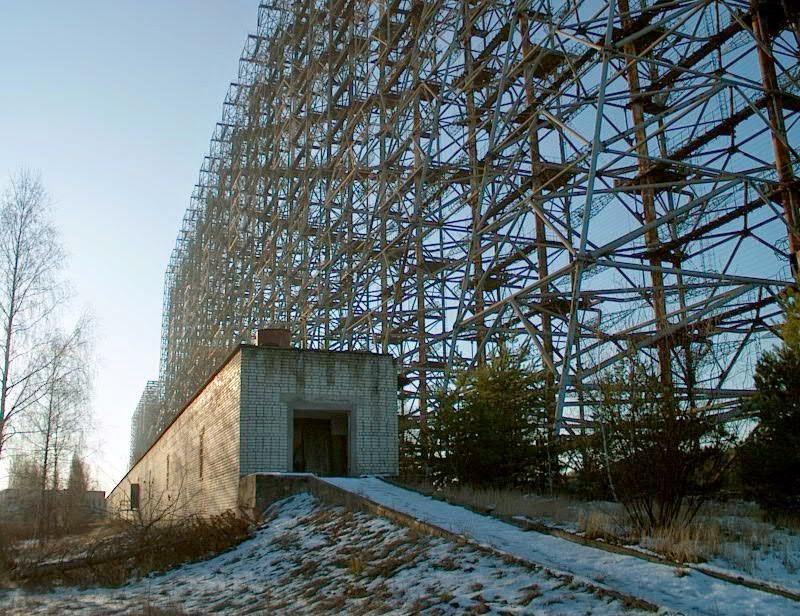 7 megaestructuras del antigua URSS abandonadas Pripyat+radar+abandonado