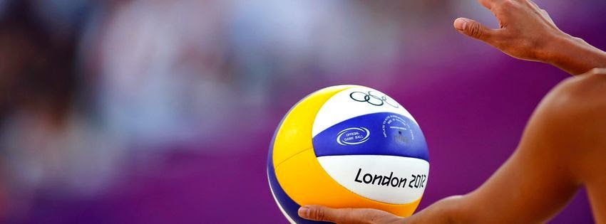 Couverture pour facebook volley ball