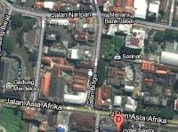 peta Jalan Braga