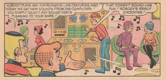 Archie foretells the future