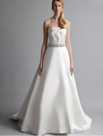 Rainingblossoms amazing wedding dresses under 200 fitted satin strapless a line 2013 wedding dress with sequined waistband unit price 19999 junglespirit Gallery