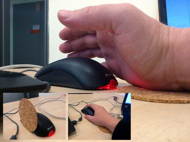 Как сделать чтобы мышка не скользила 965