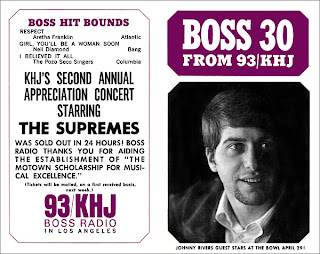 KHJ Boss 30 No. 93 - Johnny Rivers