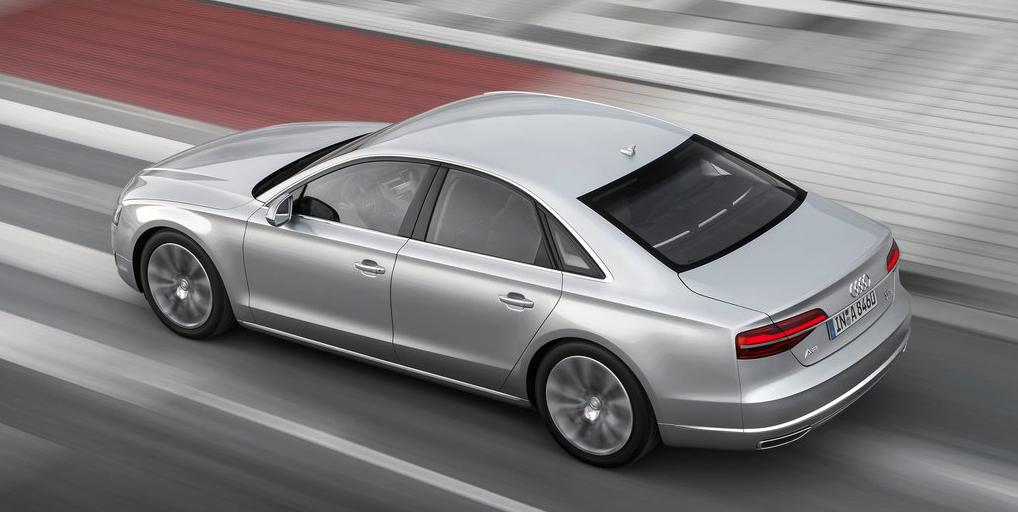 2014 Audi A8 silver