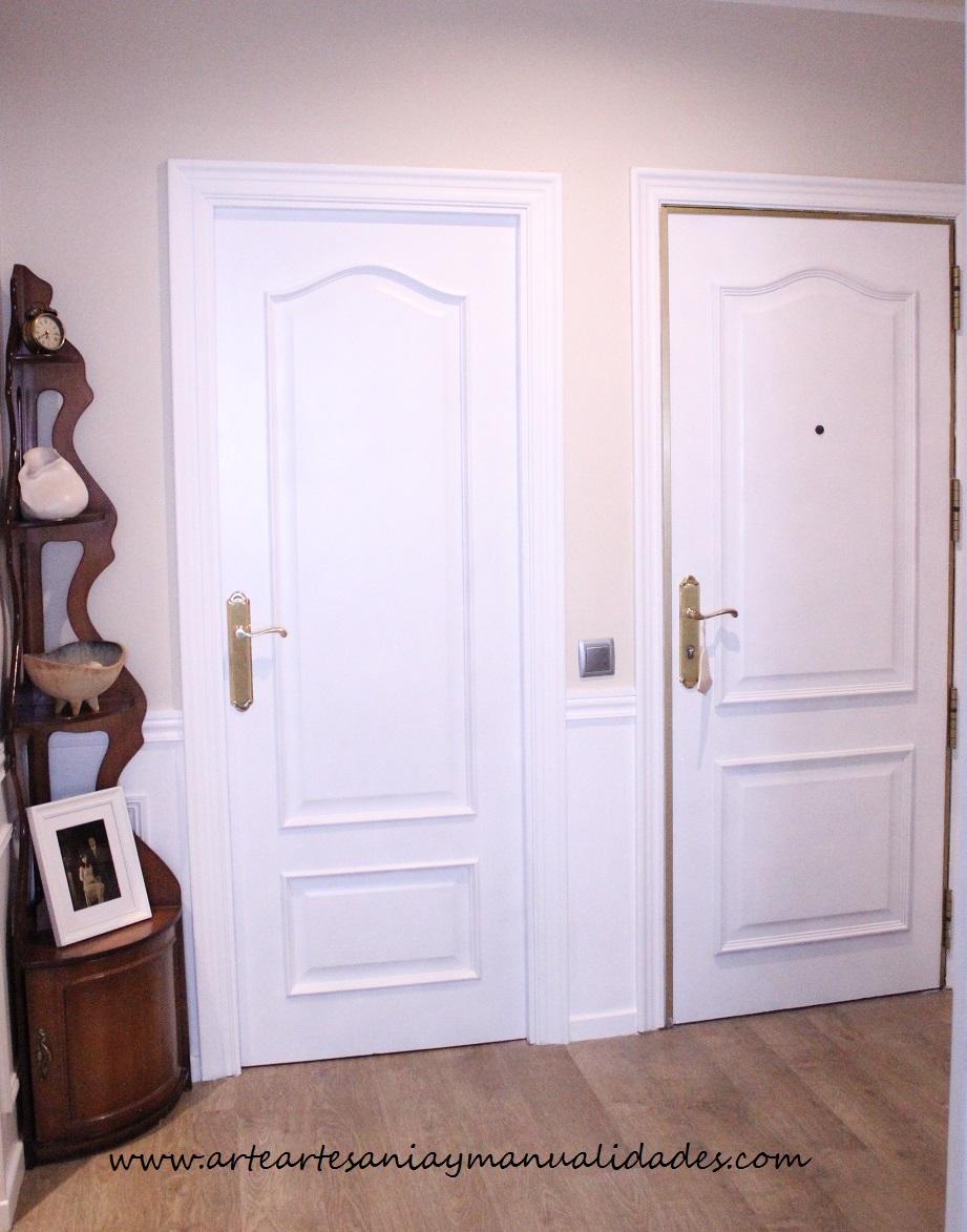 Arte, Artesania y Manualidades: Lacado de puertas Handmade y falso ...