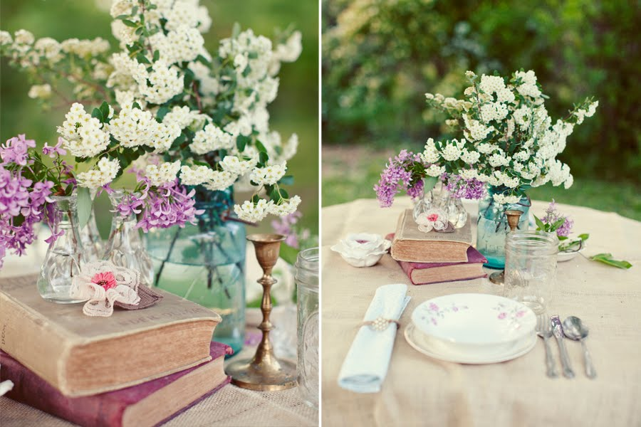 Delicious Details - Vintage Place Settings : vintage table settings for weddings - pezcame.com
