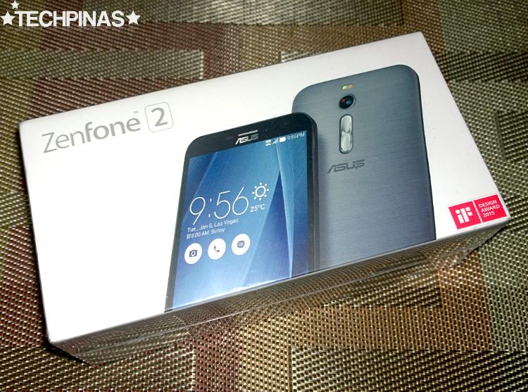 Asus ZenFone 2, Asus ZenFone 2 Unboxing