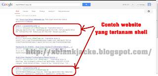 Mencuri Website Yang Terkena Deface