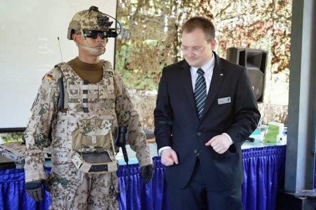 Rheinmetall Defence Electronics GmbH Jerman Perkenalkan BMS-Battlefield management System Kepada Marinir TNI AL