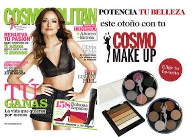 Revista Cosmopolitan octubre 2013