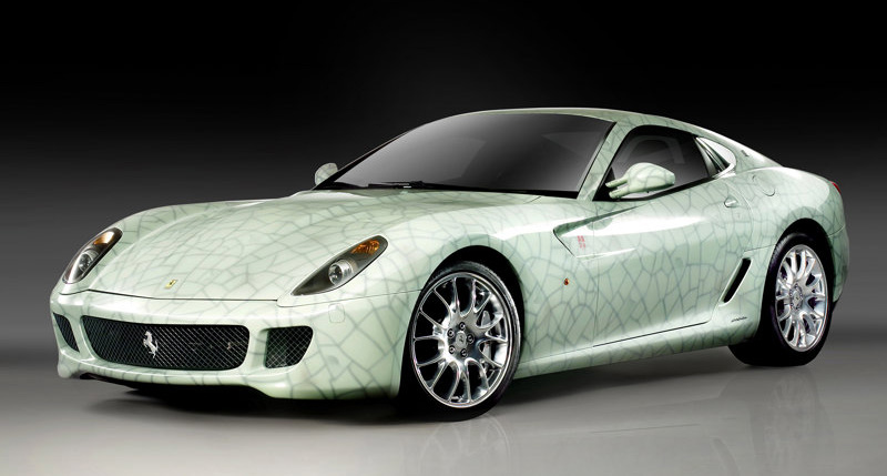 New Top Fantastic Cars Ferrari 599 Gtb Fiorano China 2009