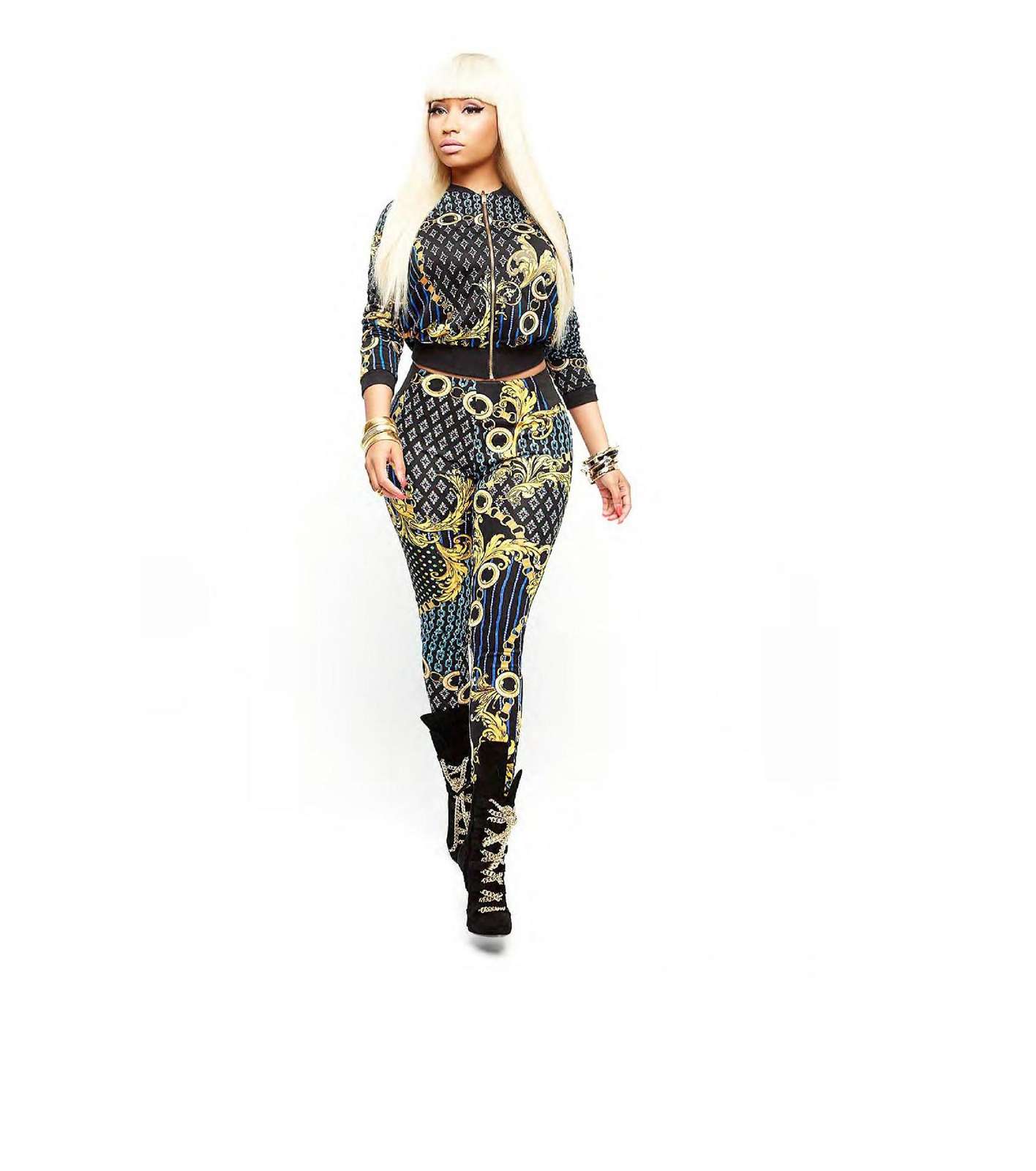 Wonderful World Of Fashion And Beauty Nicki Minaj Clothing Line